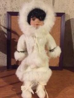 porcelain doll winter outfit