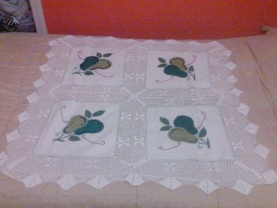 Tablecloth elegant  home decor