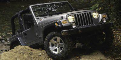 2005 Jeep Wrangler Rubicon (Silver)
