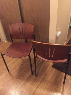 2 Like New Dining Chairs