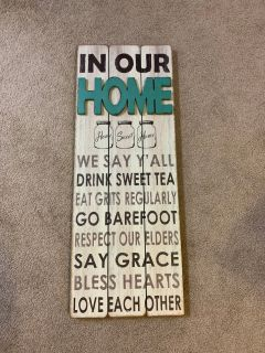 Large wall sign