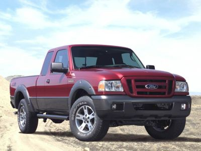 2007 Ford Ranger XL (Oxford White Clearcoat)