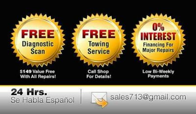 A. Auto repair is just a phone call away contact us at 713-771-1617-