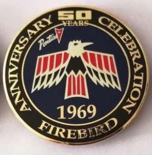 50 year anniversary grill badge