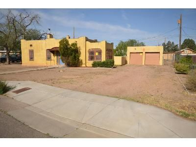2 Bed 1 Bath Foreclosure Property in Albuquerque, NM 87104 - Lynch Ct NW
