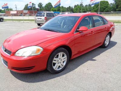2012 Chevrolet Impala LT Fleet (Red)