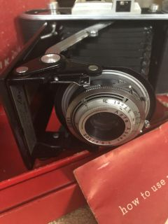 1952 camera in box w directions.