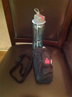 Iron man Water Bottle w/Case and Strap