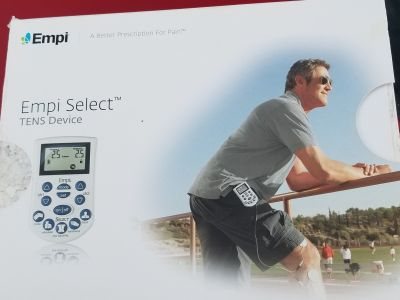 EMPU SELECT TENS PAIN UNIT New never used only opened box to show inside reg price on Amazon is $329