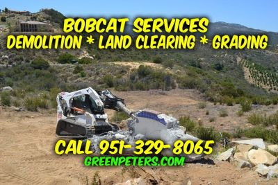 Demolition, Grading, Land Clearing Services in Murrieta