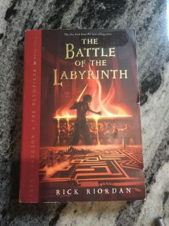 Book - Percy Jackson Series The Battle of the Labyrinth by Rick Riordan $2