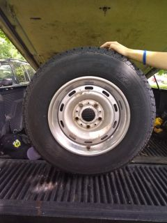 1994 Dodge Ram 1500 tires are brand new comes with rims