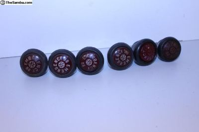 1967 Emergency Hazard Knobs
