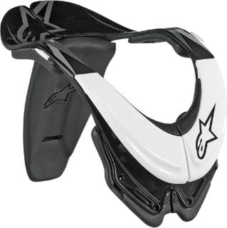 Sell Alpinestars Bionic Neck Support SB Motocross Neck Brace Large White/Black Large motorcycle in Loudon, Tennessee, US, for US $219.95