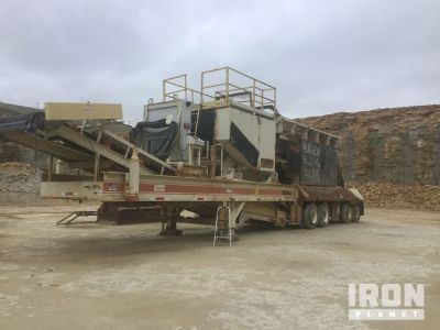 Metso 3054 VFG Portable Jaw Crusher Plant