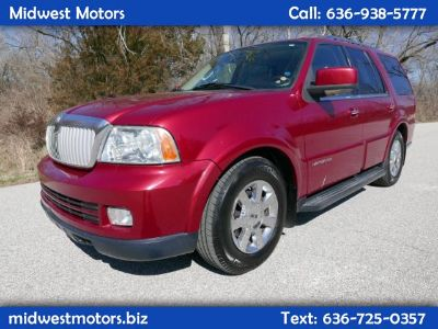 2006 Lincoln Navigator Luxury (Red)