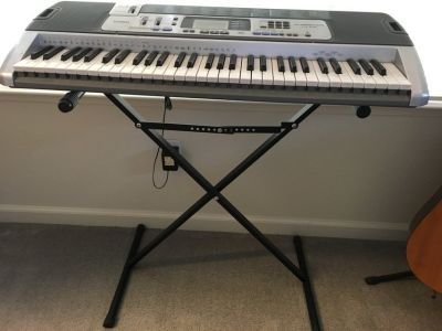 Casio organ piano with stand