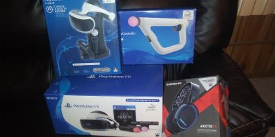Playstation VR Bundle With Extras