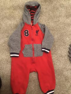 12-18 month excellent condition Liverpool Football Club outfit