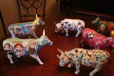 $15 OBO Cows on Parade Many to Choose from