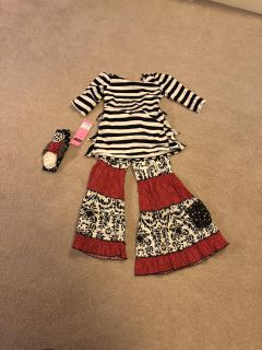 Mustard Pie Holiday outfit size 8