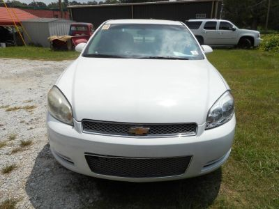 2012 Chevrolet Impala LS Fleet (White)