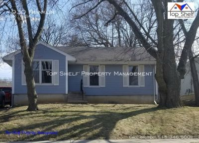 4 bedroom 1 bath home with a partial finished basement!