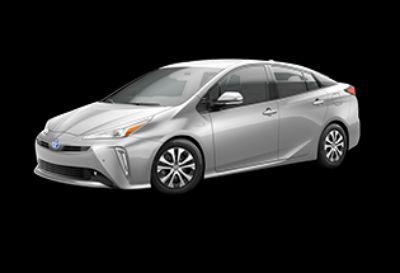 2019 Toyota Prius XLE (Classic Silver Metallic)
