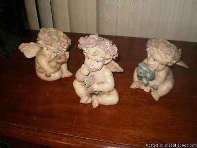 COLLECTIBLE ANGELS FIGURINES