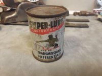 Vintage piggy bank and trans additive