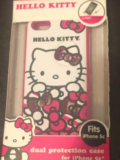 NEW HELLO KITTY PHONE CASE FITS IPHONE 5C