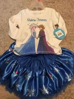 Frozen outfit NWT 2T