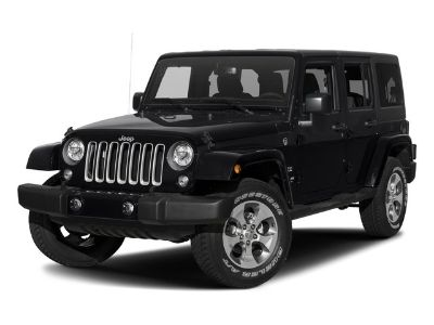 2017 Jeep Wrangler Unlimited Sahara (Black Clearcoat)