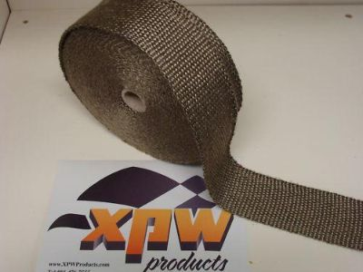 "Buy XPW Titanium 50' x 2"" Header/Exhaust Pipe Wrap Rat Rod/Hot/Model A/Sedan/Coupe motorcycle in Atoka, Tennessee, US, for US $37.50"