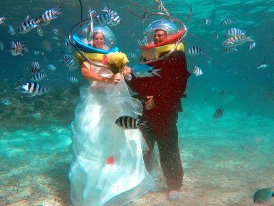 Underwater Wedding Proposal Photos: When Love Is Underwater!