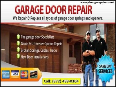 Professional Garage Door Repair Service $25.95 in Plano, Dallas TX