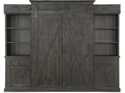 Magnussen Garrett Entertainment Wall, Weathered Charcoal