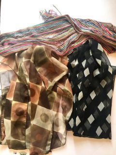 Beautiful Scarves take all 3 for $2.50