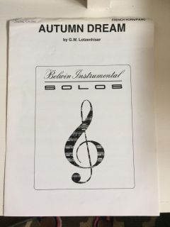 Autumn Dream French Horn/Piano