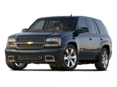 2008 Chevrolet Trailblazer LS (Black)
