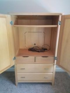 Entertainment Center Armoire