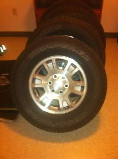 Gmc stock rims and tires