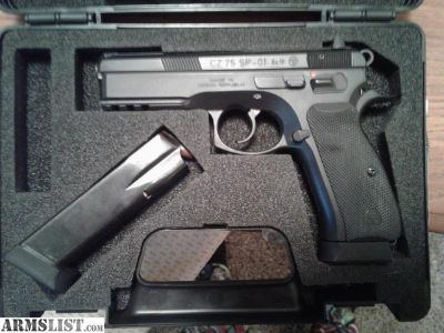 For Sale: CZ 75 SP01 9mm