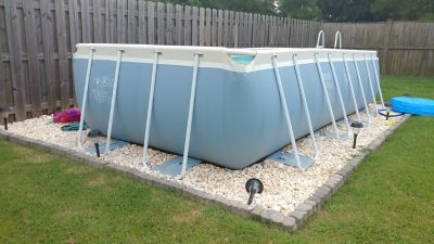 8' x 16' Intex Pool