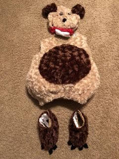 Size 2-4t puppy costume