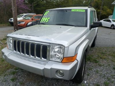 2007 Jeep Commander Limited (Silver)