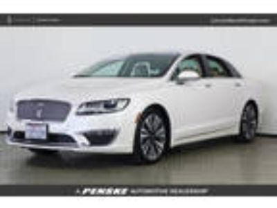 Used 2017 Lincoln MKZ White Platinum Metallic Tri-Coat, 27.3K miles