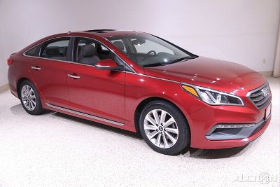 2016 Hyundai Sonata 2.4L Sport (venetian red)