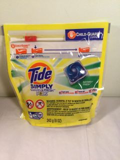 Tide Simpy clean and fresh daybreak fresh pods, 13 ct.