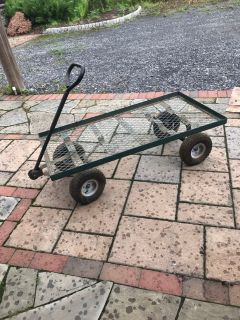 Pull cart( tires need air- or plugs) 10 carts available $20 each